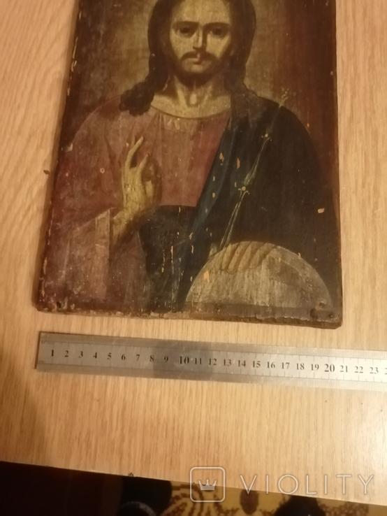 Икона старинькая, фото №6