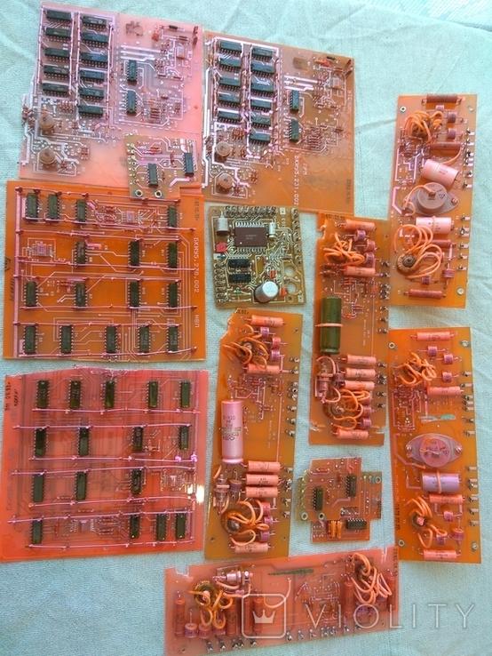 Радиодетали - платы СССР на вес 1,1 кг (остатки деталей), фото №2