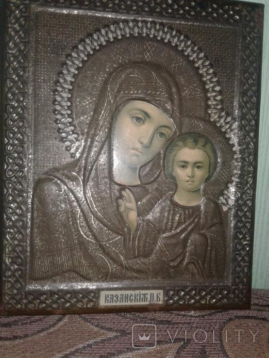 Икона оклад жакко казанская, фото №9
