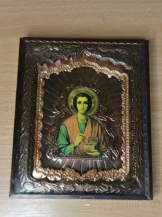 Икона. Святой Пантелеймон., фото №2