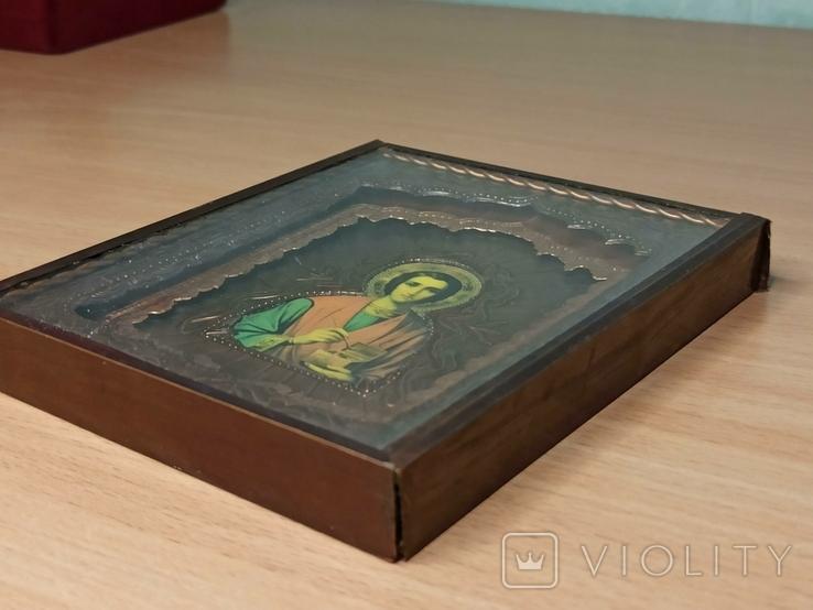 Икона. Святой Пантелеймон., фото №6