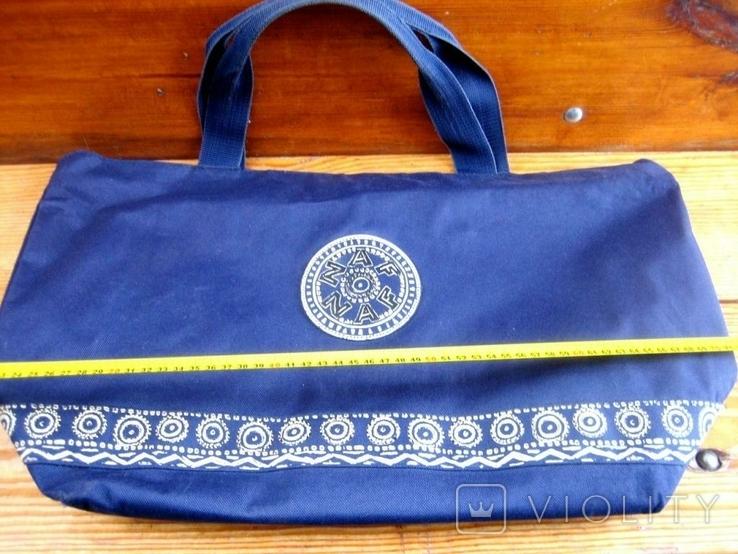 Велика жіноча фірмова сумка, фото №2