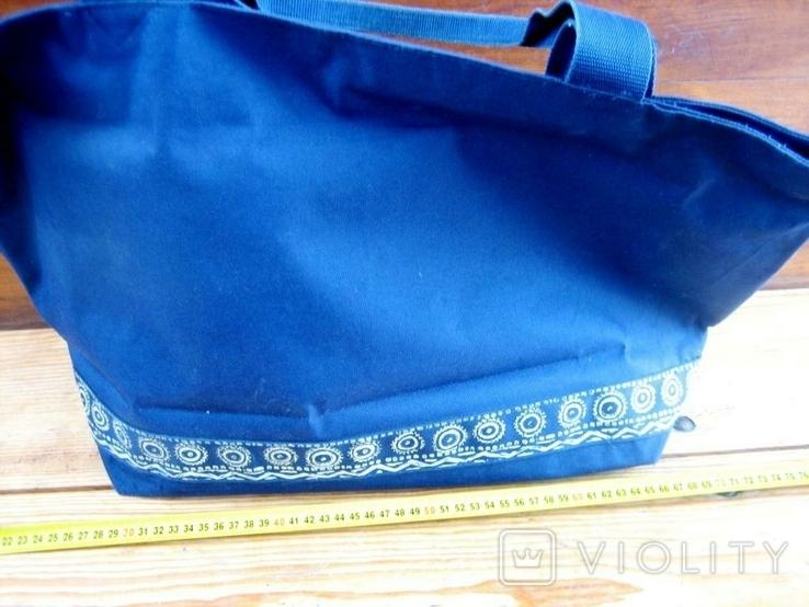 Велика жіноча фірмова сумка, фото №4