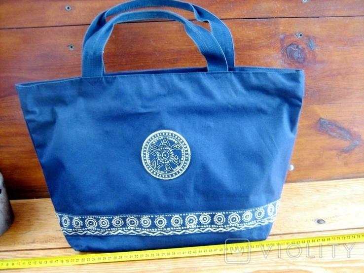 Велика жіноча фірмова сумка, фото №10