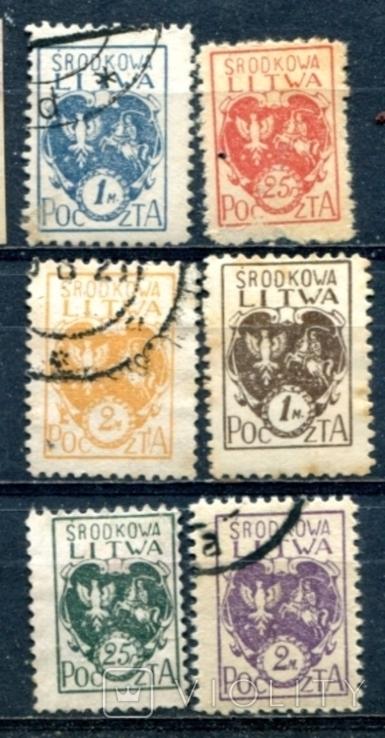 Литва  середня. польська  окупація