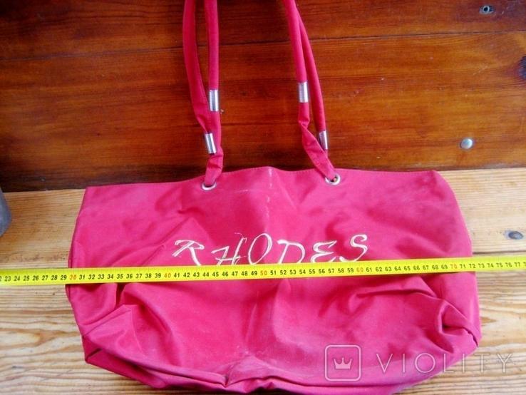 Жіноча фірмова сумка, фото №3