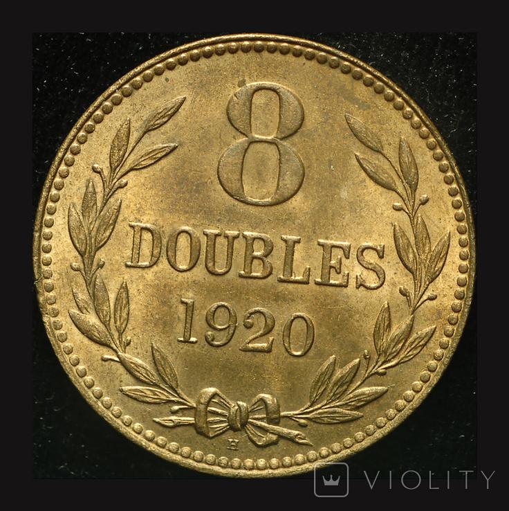 Гернси 8 даблов 1920, фото №2