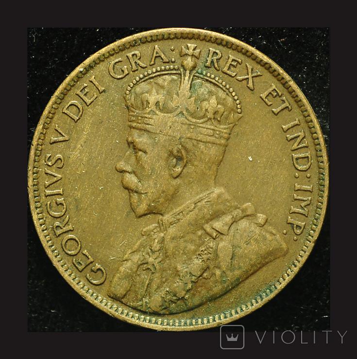 Канада цент 1914, фото №3