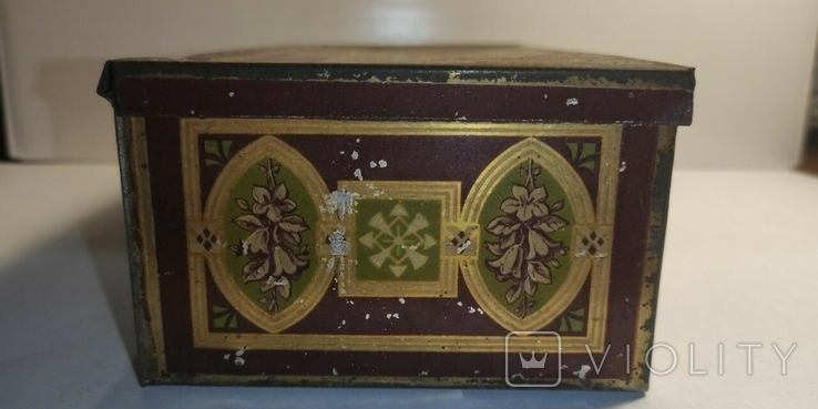 Коробка от пастилы. Товарищество А. И. Абрикосова Сыновей, фото №6