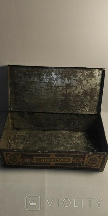 Коробка от пастилы. Товарищество А. И. Абрикосова Сыновей, фото №9