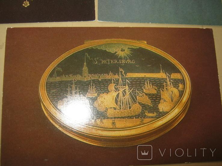 Набор открыток Русское ювелирное искусство из Эрмитажа, фото №5