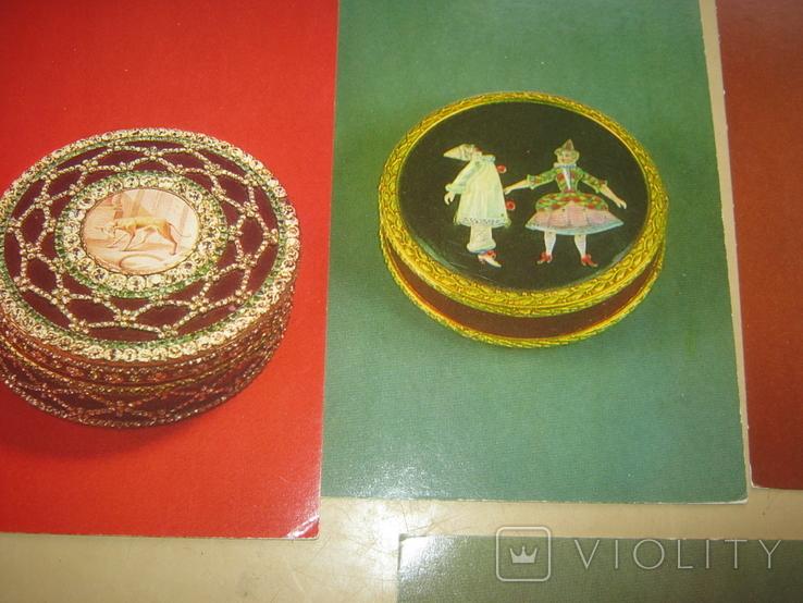 Набор открыток Русское ювелирное искусство из Эрмитажа, фото №8