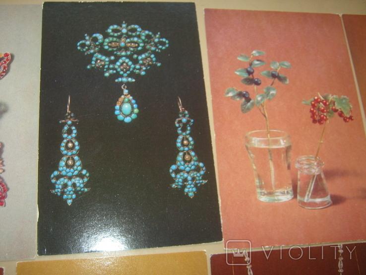 Набор открыток Русское ювелирное искусство из Эрмитажа, фото №9