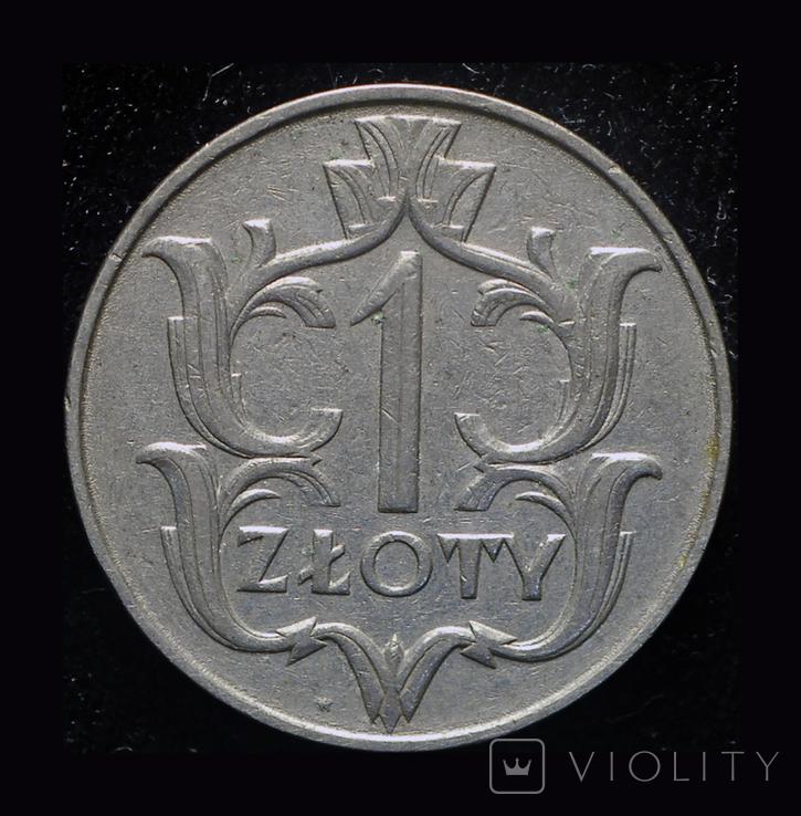 Польша 1 злотый 1929, фото №2