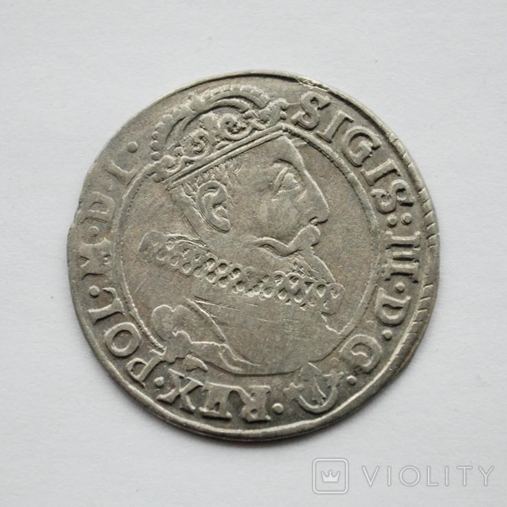 6 грошей г.Краков 1623г., фото №3