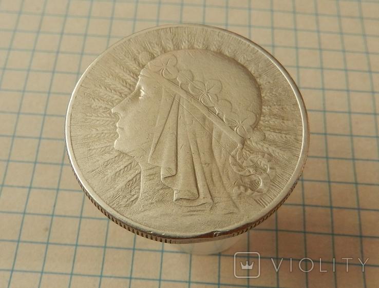 Польща 10 злотих, 1932 Без мітки монетного двору - Лондон, фото №3