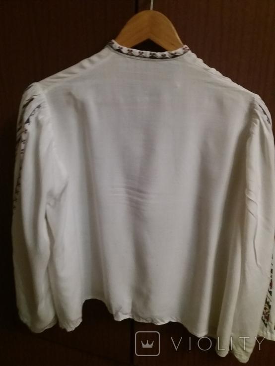 Сорочка для дівчинки вишивка та камизелька ручна робота., фото №4