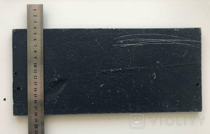 Алюминиевая табличка ИВБ, фото №4