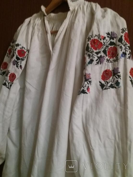 Сорочка жіноча вишивка,кінець 19 століття,початок 20., фото №3