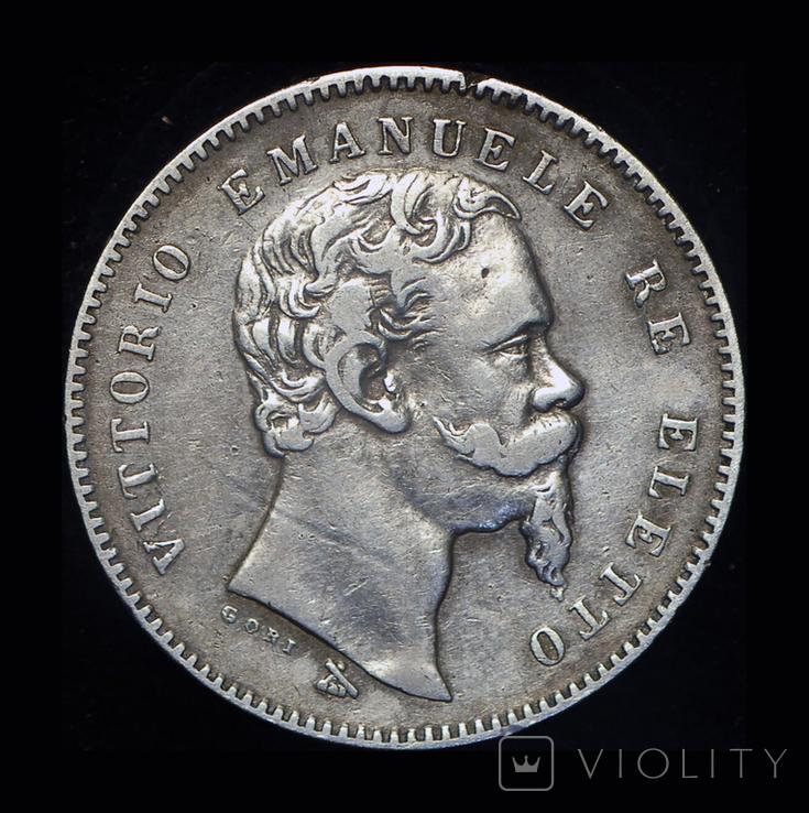 Эмилия Романа лира 1860 серебро FIRENZA, фото №3