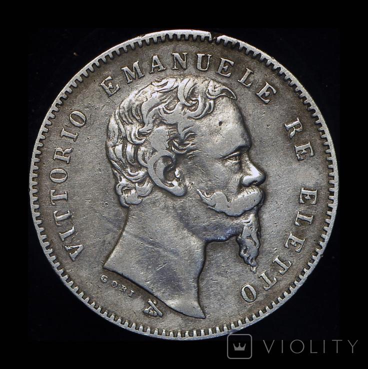 Эмилия Романа лира 1860 серебро FIRENZA, фото №4
