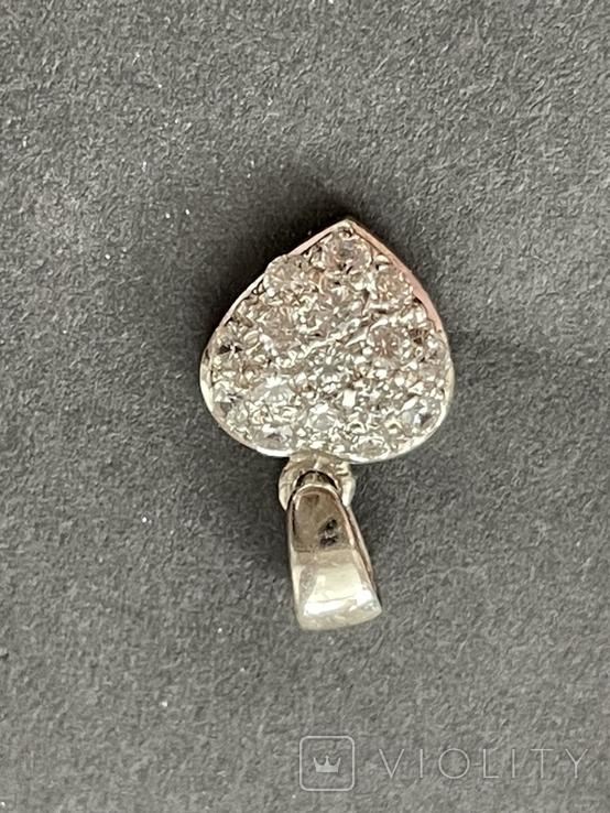 Подвеска серебряная, фото №5