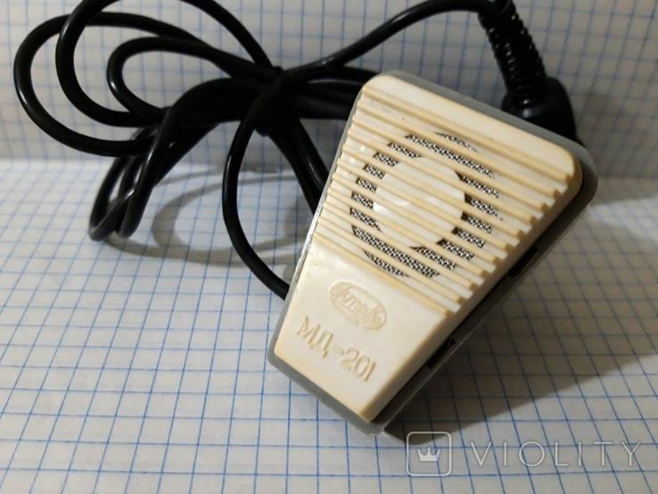 Микрофон МД 201 1982, фото №2