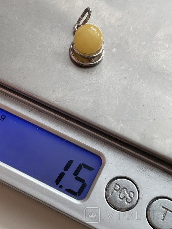 Подвеска серебряная, фото №8