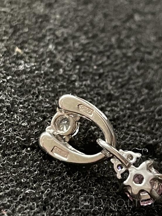 Подвеска серебряная, фото №6