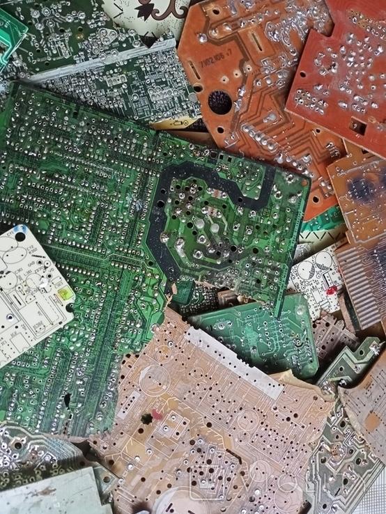 Плати з  випаянними деталями на переробку, фото №3