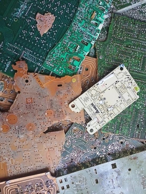 Плати з  випаянними деталями на переробку, фото №4