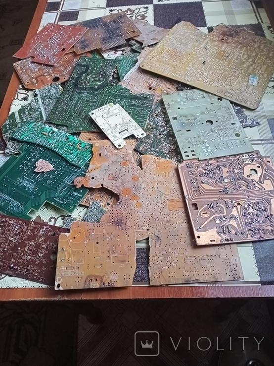 Плати з  випаянними деталями на переробку, фото №5
