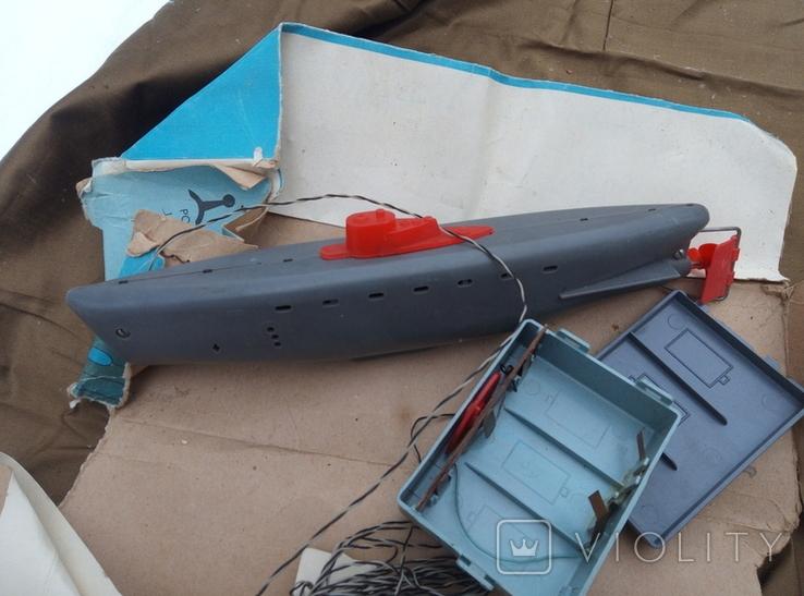 Игрушка лодка подводная ссср, фото №4