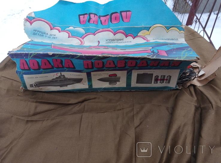 Игрушка лодка подводная ссср, фото №10