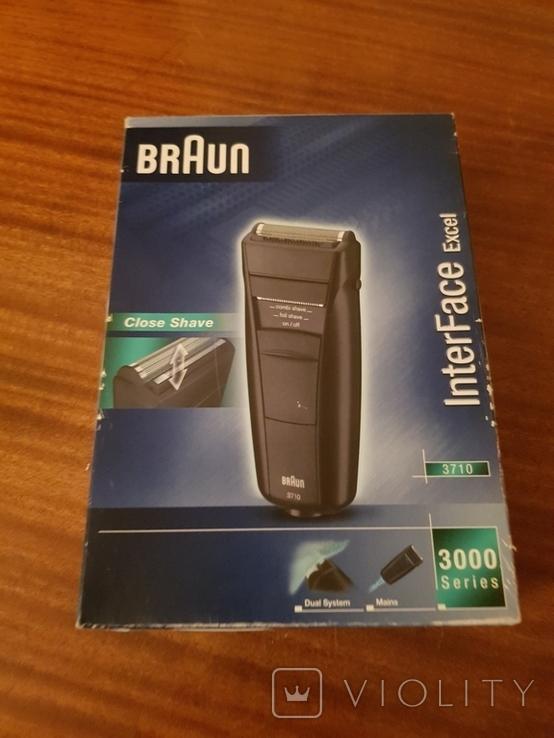 Бритва злектрическая BrAun 3710, фото №2