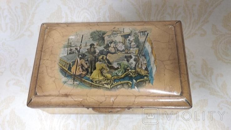 Коробка старая Голландия, фото №2
