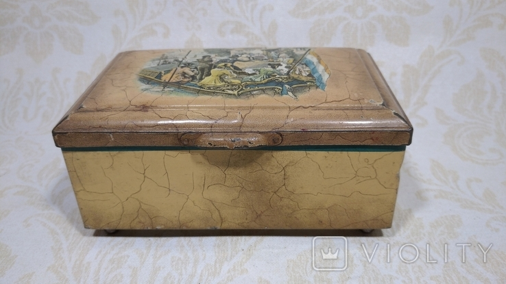 Коробка старая Голландия, фото №3
