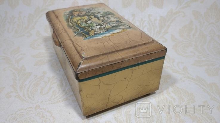 Коробка старая Голландия, фото №4
