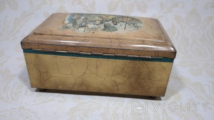 Коробка старая Голландия, фото №5