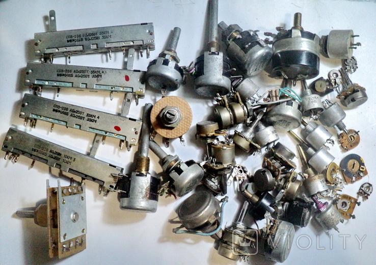 Переменные резисторы, фото №2