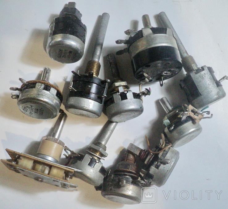Переменные резисторы, фото №4