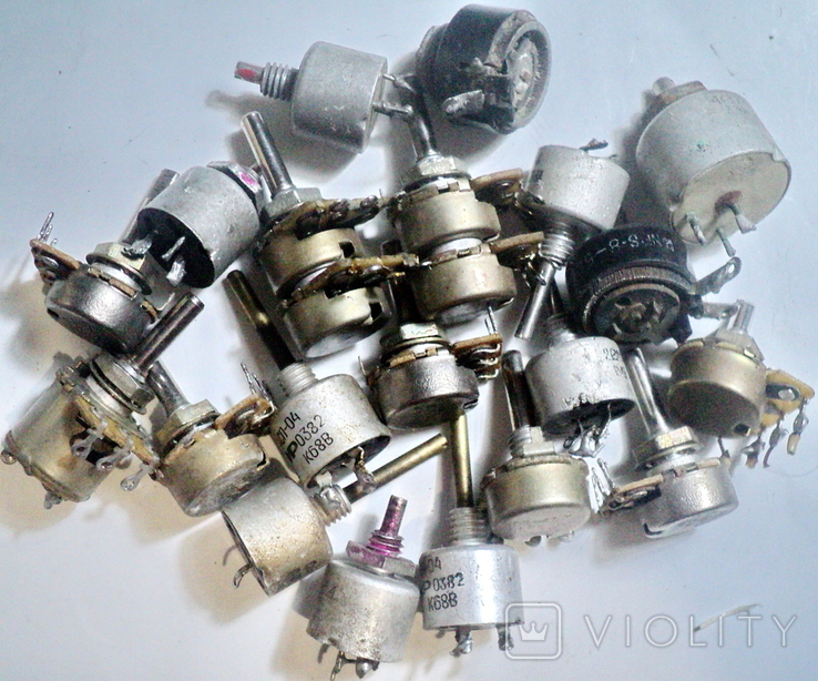 Переменные резисторы, фото №5