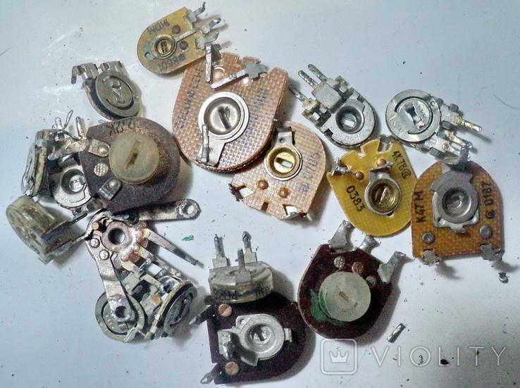 Переменные резисторы, фото №6