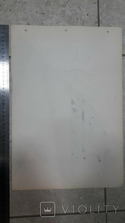 Малюнок на козацьку тему №2 туш,  підпис, фото №8