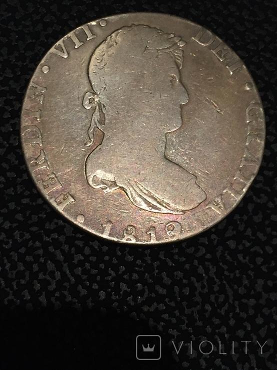 Монета срібна ( фальшак того часу), фото №2