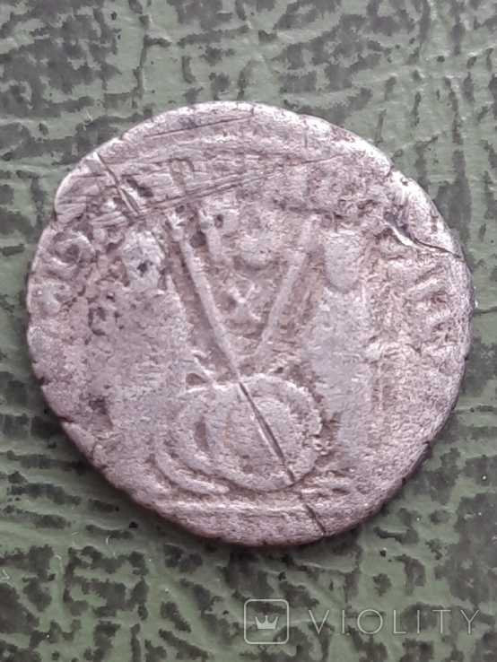 Динарій Октавіан Август 63 до н.е-14 н.е, фото №3