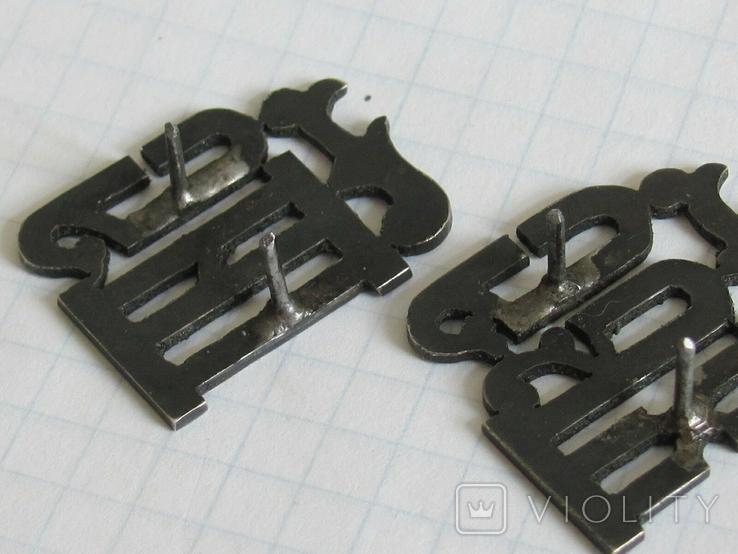 Серебрянные вставки с эмалями ІИС ХС на оклад, фото №10