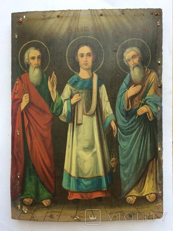 Св. Гурий, Авив, Симон, фото №3
