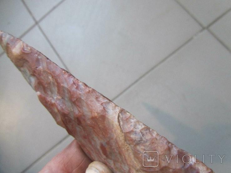 Кремневый наконечник копья, фото №9