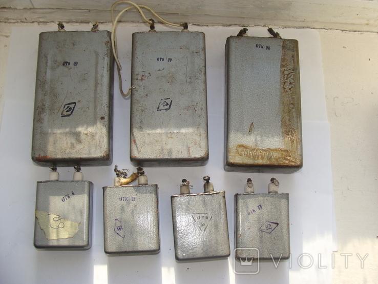 Конденсаторы К75-15 5кВ 2шт. ПКГТ-П 5кВ1шт.  ПКГТ-П 3кВ 4шт., фото №5